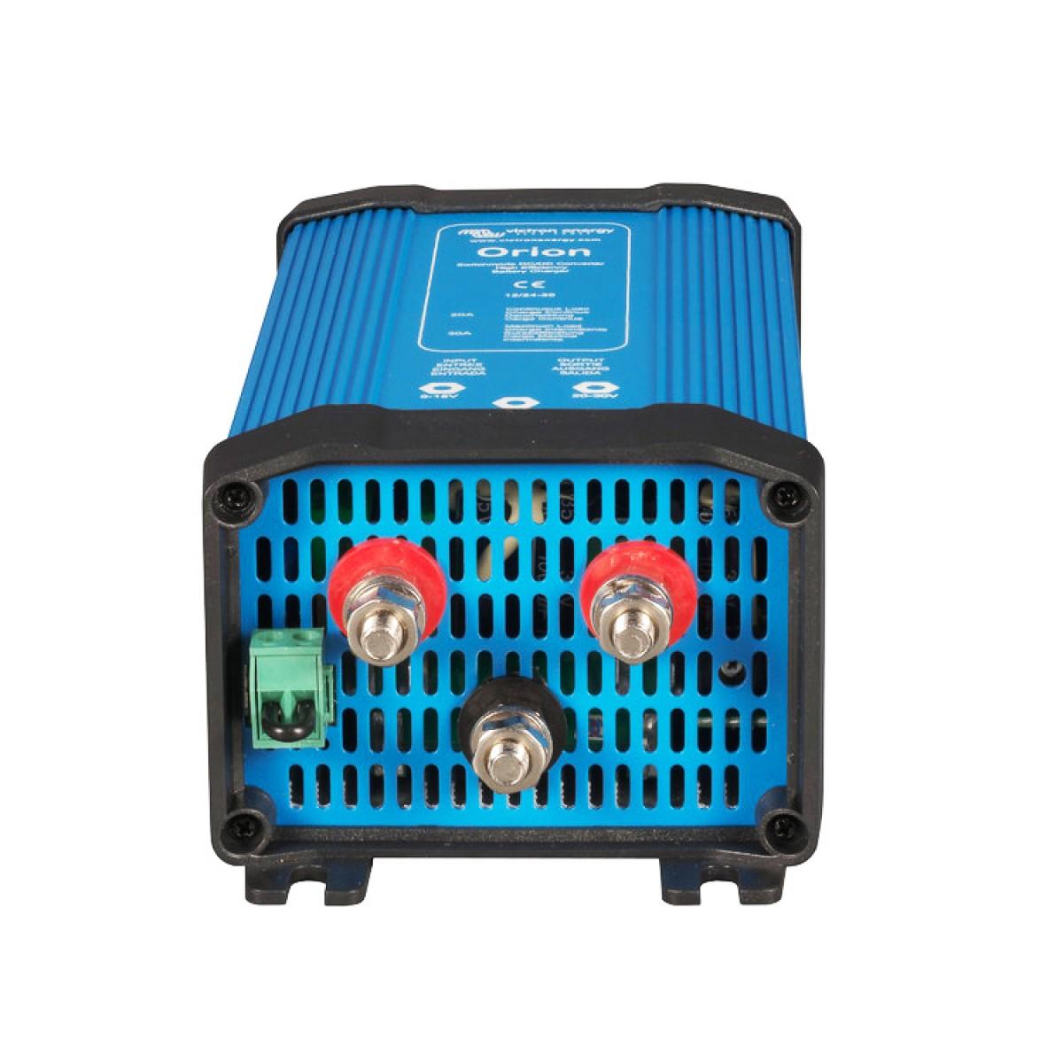 DC DC Wandler 12V auf 24V, 20 Ampere, als 24V Pufferladegerät verwendbar, ORION
